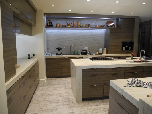 La Jolla Residence custom kitchen