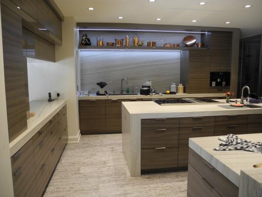 La Jolla Residence custom kitchen